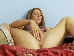 Redhead Sex Kitten Masturbating With Passion