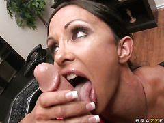 Jewels Jade With Gigantic Hooters Takes Johnny Sinss Cock Up Her Wet Spot