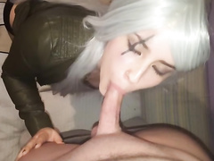 Pov Blowjob With Cosplay Babe