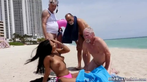 Old Man Jerk And Russian Teen Daddy Staycation With A Latin Hottie
