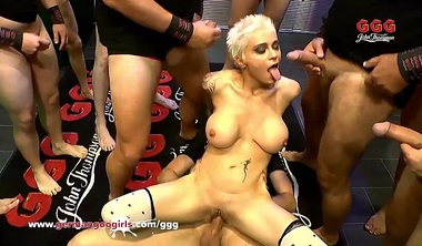 Nasty Mila Milan Double Penetrated And Creamed – German Goo G