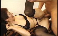 German Grandmother Fucked By Younger Guy