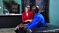 Brazzers – Riely Reid Sucks Some Big Black Cock