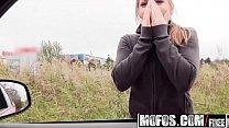 Mofos – Stranded Teens – (Alessandra Jane) – Horny Hitchhiker Sucks Cock