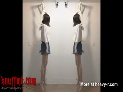 Real  Hanging Of Japanese Girl