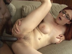 Redhead Penny Pax Gets Satisfaction In Steamy Interracial Action