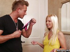 Bleached Teen Jessie Volt Is Looking For A Boner