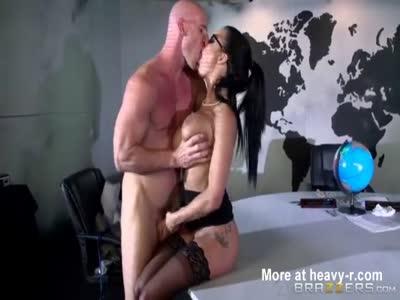Big Tits At Work