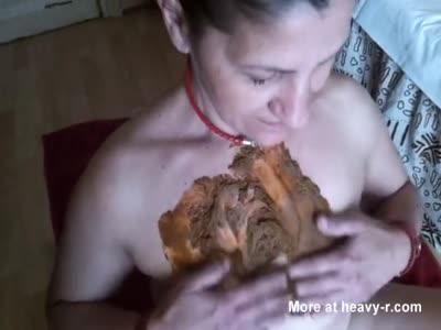 French Mature Gets Shit On