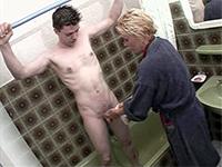 Shameless Mom Insist To Help Her Nephew Showering
