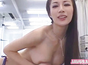 Naughty And Winsome Asian Pornstar Is Giving Deep Blowjob