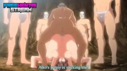 Free Hentai Porn – Whole Town Gangbangs In Public!