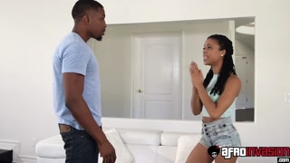 Biggest Black Teen Kira Noir Will Get Her Aroused Pink Slit Inserted Into