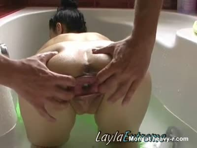 Stuffing Balls In Pussy