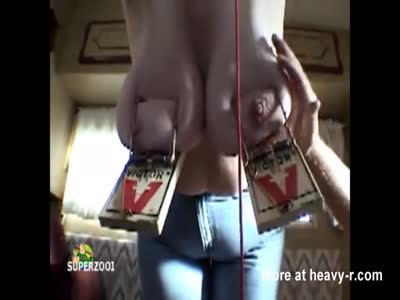 Mature Tits Trapped