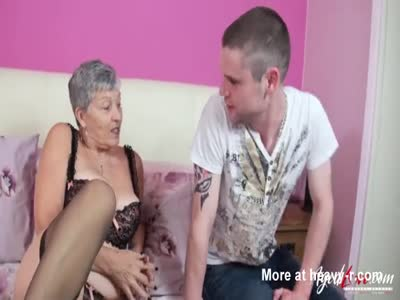 Busty Granny Eaten Out