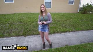 BANGBROS – Gigantic Boobies Blond Kara Lee Tricked And Got Fucked By Tony Rubino