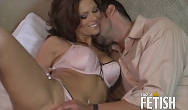 Brunette Is Pounded In The Ass By A Big Cock