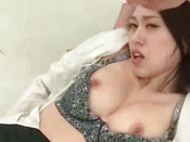Voluptuous Asian  Is Having Threesome Gangbang