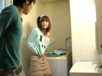 Japanese Boy Enters Bathroom When Stepsis Prepares For Bath