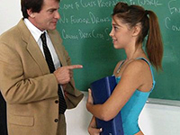 Perv Teacher Offers Her Last Chance To Pass The Grade