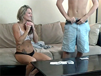 A Game Of Strip Poker Turns Into Forbidden Lust