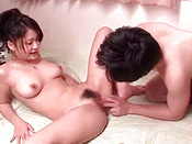 Naked Japanese Queen With Small Cans Is Having 69 Pose