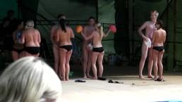 Balloon Dance Part 3 (Partial CFNM)