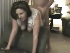 Milf In Stocking Fucked From Behind