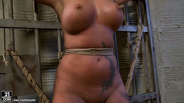 Blonde With Giant Boobs Is On The Edge Of Nirvana After Sensual Sex With Lesbian Kathia Nobili