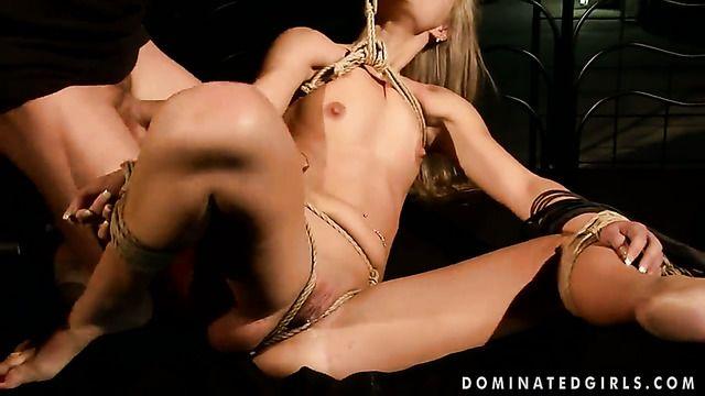Blonde Sabrinka Fucks A Lot Before Getting Enough
