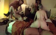 Wild Group Bang On The Bed