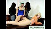 Ebony Eats Cfnm Dick