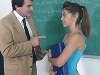 Naughty Schoolgirl Earns Her Grades The Hard Way