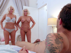 Kristina Shannon And Karissa Shannon Threesome With Alex Legend