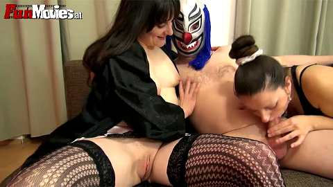 Masked Threesome