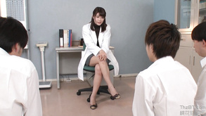 New Japanese Teacher Watches How Young Students Masturbates