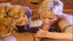 Retro Threesome Sex
