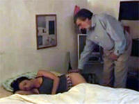 Dirty Old Fart Sneaked Into Girl's Room While She Slept