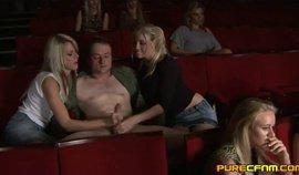 Cinema Cfnm Handjob