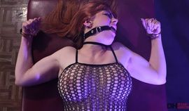 Hot  Babe In Fishnet  Bodystocking    Getting Her Ass Penetrated By Rough Guy