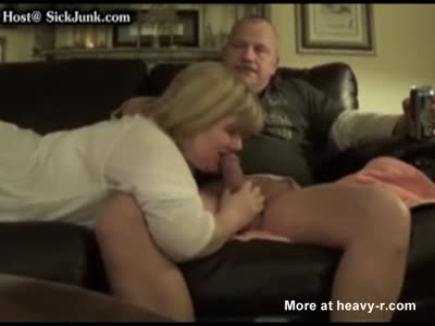 Redneck Gets Blowjob From His 'Stepsister'