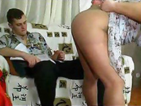 Boy Just Couldn't Resist His Girlfriend's Mom Teasing