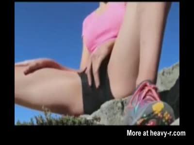 Masturbation During Hiking