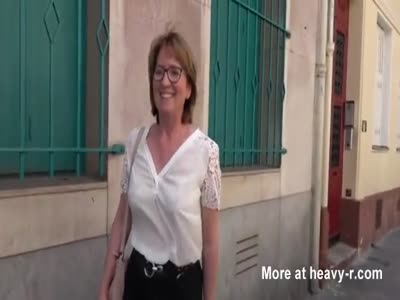 Horny French Mom Fucking Stranger