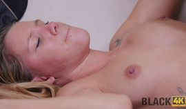 BLACK4K. Teen Plays With Vibrator And Then With Big Black Boner