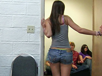 Lucky Guy With A Bunch Of College Girls In Dorm Room