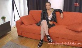 French-Bukkake – Hanna – Casting