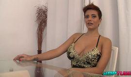 Amaranta Hank's First Porn Scene
