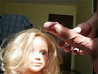 Sexy Barbie Doll Sucking A Cock